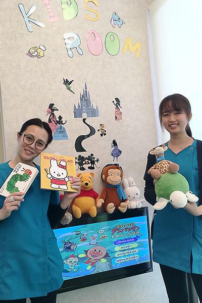 小児歯科における当医院の特徴